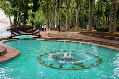 Gulhane Park in Istanbul Stock Photo