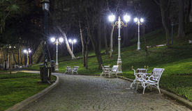 Gulhane Park in Istanbul Royalty Free Stock Photography