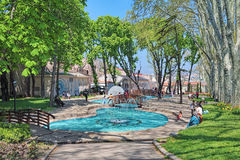 Gulhane Park in Istanbul, Turkey Stock Images