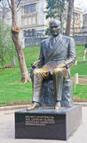 Gulhane Park. Monument to Ataturk Turkey. Istanbul Stock Photo