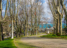 Gulhane park Royalty Free Stock Images