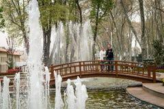 Gulhanepark in Istanboel, Turkije Stock Foto's