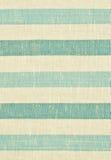 Guling och blått gjord randig tygtextur Arkivfoto