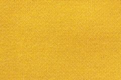 Guling tvättade matttextur, bakgrund för textur för linnekanfas vit Arkivbild