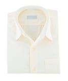Guling vikt skjorta royaltyfri bild