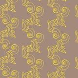 Gulingen mönstrar Royaltyfri Foto