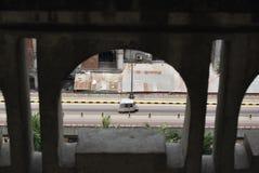 GULISTAN FLY OVER DHAKA BANGLADESH. NAGAR BHAVAN DHAKA BANGLADESH.BEAUTY OF DHAKA stock photo