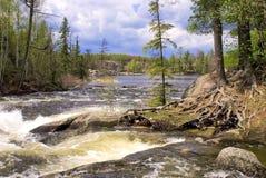 Gull lake, rapids, bwcaw Stock Photography