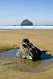 Gull Rock Trebarwith Strand Stock Photos