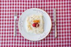 Gullac/Ramadan Dessert tradicional turco imagem de stock