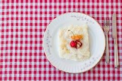 Gullac/Ramadan Dessert tradicional turco imagens de stock