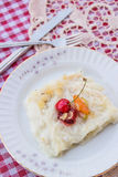 Gullac / Turkish Traditional Ramadan Dessert Stock Photo