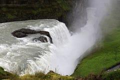 gullfoss καταρράκτης της Ισλαν&delta Στοκ Εικόνες