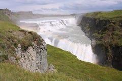 gullfoss Исландия Стоковые Изображения