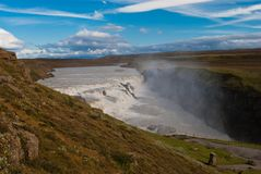 Gullfoss Royalty Free Stock Photos