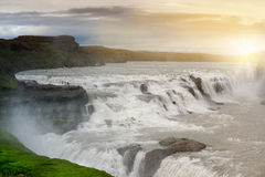 Gullfoss Photographie stock