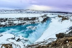 Gullfoss stock photography