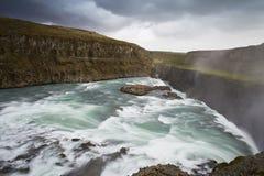 Gullfoss, cachoeira imagem de stock
