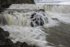 Gullfoss Falls Iceland. Gullfoss Falls, The largest fall in Iceland Stock Image
