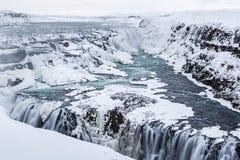 Free Gullfoss Frozen Majesty Royalty Free Stock Image - 38877096