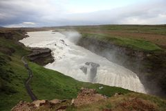 Gullfoss Royalty Free Stock Photo