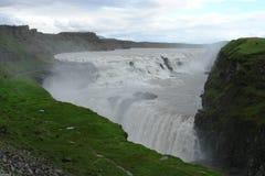gullfoss iceland Royaltyfri Fotografi
