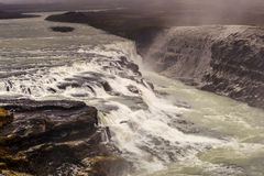 Gullfoss, Iceland Royalty Free Stock Images