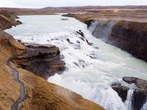 Gullfoss Royalty Free Stock Image