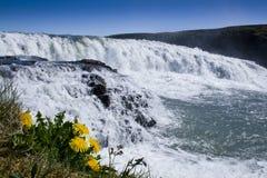 Gullfoss, Island lizenzfreies stockfoto