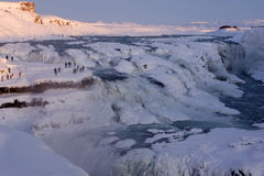 Gullfoss, Islanda Fotografie Stock
