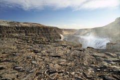 Gullfoss, Islande Image libre de droits