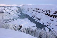 Gullfoss, Islandia Fotos de archivo