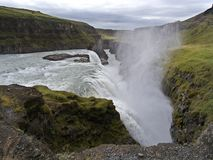 Gullfoss, sud-ouest Islande Photos stock