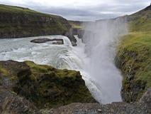 Gullfoss, sud-ovest Islanda fotografie stock