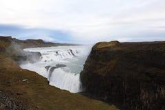 Gullfoss waterfall Stock Image