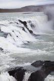 Gullfoss waterfall Stock Photo
