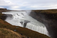 Gullfoss waterfall Stock Photography