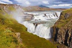 Gullfoss waterfall Royalty Free Stock Photography