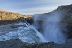 Gullfoss Waterfall Royalty Free Stock Photos