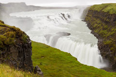 Gullfoss waterfall Royalty Free Stock Photography