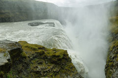 Gullfoss Waterfall Royalty Free Stock Image
