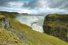 Gullfoss Waterfall Royalty Free Stock Images