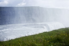 Gullfoss Waterfall in Icelad Stock Images
