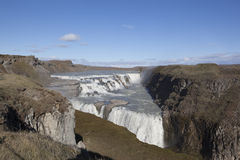 Gullfoss waterfall in Iceland Royalty Free Stock Photo