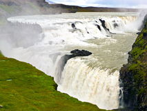 Gullfoss waterfall in iceland Stock Photography