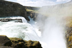 Gullfoss waterfall , Iceland Stock Images