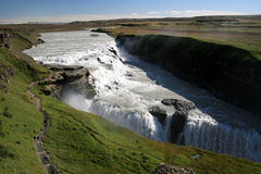 Gullfoss waterfall Iceland royalty free stock image