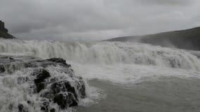 Gullfoss waterfall Royalty Free Stock Images