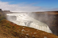 Gullfoss waterfall , Iceland stock image