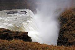 Gullfoss waterfall , Iceland Stock Photo